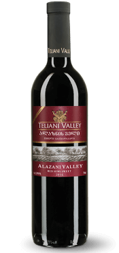 Georgian wines - Alazani Valley red